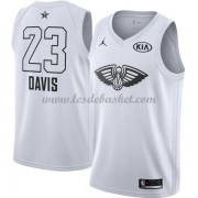 Maillot NBA Pas Cher New Orleans Pelicans Anthony Davis 23# White 2018 All Star Game Swingman..